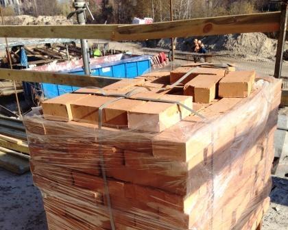 Строительство частного дома из лубенского кирпича